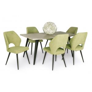 Aspen étkező Tina asztallal (6 személyes)