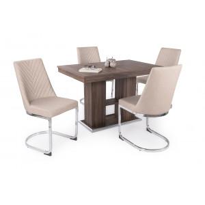 Eszter étkező Corfu asztallal (4 személyes)