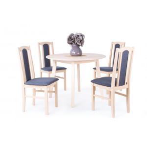 Sophia étkező Anita kör asztallal (4 személyes)