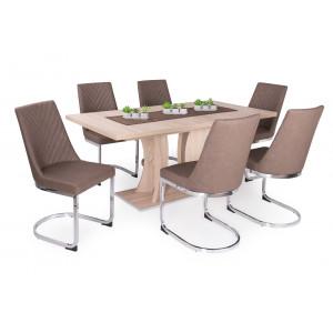 Eszter étkező Bella asztallal (6 személyes)