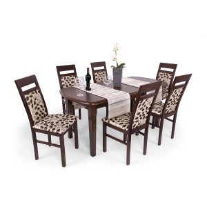Léna étkező Dante asztallal mogyoró