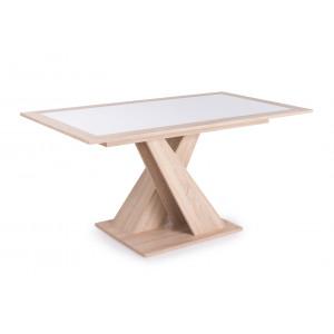 Kis Flóra asztal sonoma tölgy színben