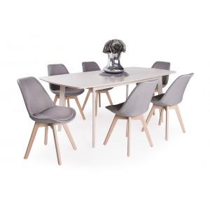 Lili étkező Erika asztallal (6 személyes)